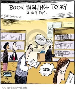 Comic Strip John Deering  Strange Brew 2012-07-07 book signing