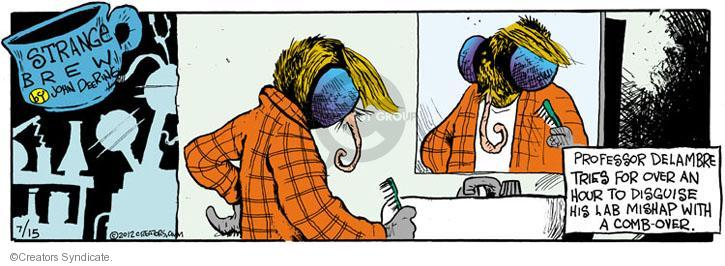 Comic Strip John Deering  Strange Brew 2012-07-14 science fiction movie