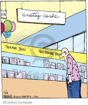 Comic Strip John Deering  Strange Brew 2012-07-13 card