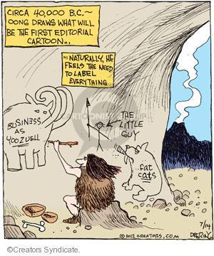 Comic Strip John Deering  Strange Brew 2012-07-14 forty