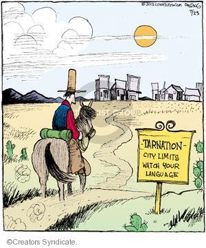 Cartoonist John Deering  Strange Brew 2012-07-23 laws