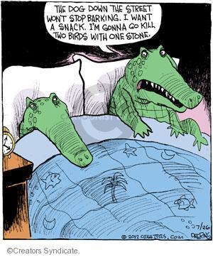 Comic Strip John Deering  Strange Brew 2012-07-26 kill