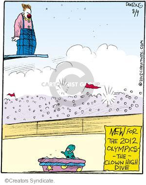 New for the 2012 Olympics - -The- Clown High Dive.