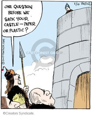 Comic Strip John Deering  Strange Brew 2012-08-10 attack