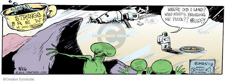 Comic Strip John Deering  Strange Brew 2012-08-26 earth