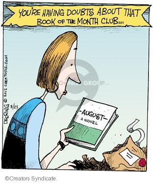 Comic Strip John Deering  Strange Brew 2012-08-23 month