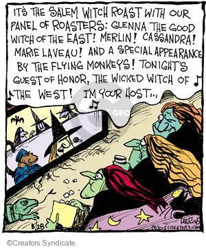 Comic Strip John Deering  Strange Brew 2012-08-28 television viewer