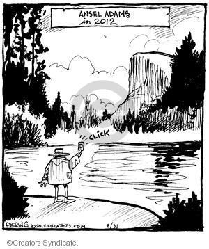 Comic Strip John Deering  Strange Brew 2012-08-31 dome