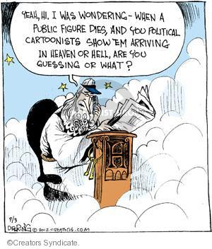 Comic Strip John Deering  Strange Brew 2012-09-03 heaven