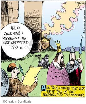 Cartoonist John Deering  Strange Brew 2012-09-07 peasant