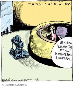 Comic Strip John Deering  Strange Brew 2012-09-08 biography