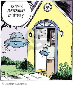 Comic Strip John Deering  Strange Brew 2012-09-10 your