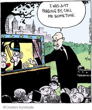Comic Strip John Deering  Strange Brew 2012-09-14 psychology