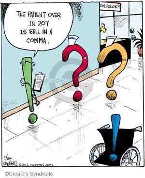 Comic Strip John Deering  Strange Brew 2012-09-24 patient