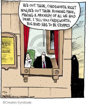 Comic Strip John Deering  Strange Brew 2012-10-15 presidential election
