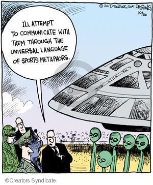 Comic Strip John Deering  Strange Brew 2012-10-16 language
