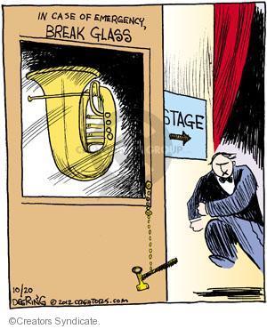 Comic Strip John Deering  Strange Brew 2012-10-20 musical