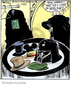 Comic Strip John Deering  Strange Brew 2012-10-22 science fiction