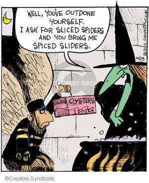 Cartoonist John Deering  Strange Brew 2012-10-23 magic