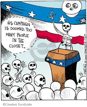 Cartoonist John Deering  Strange Brew 2012-11-05 past