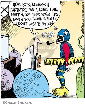 Comic Strip John Deering  Strange Brew 2012-11-09 follow