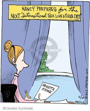 Comic Strip John Deering  Strange Brew 2012-11-10 language