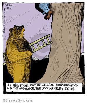 Comic Strip John Deering  Strange Brew 2012-11-13 point