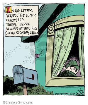 Comic Strip John Deering  Strange Brew 2012-11-14 check