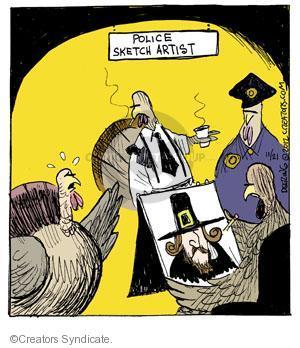 Comic Strip John Deering  Strange Brew 2012-11-21 Thanksgiving turkey