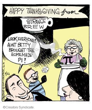 Comic Strip John Deering  Strange Brew 2012-11-22 math