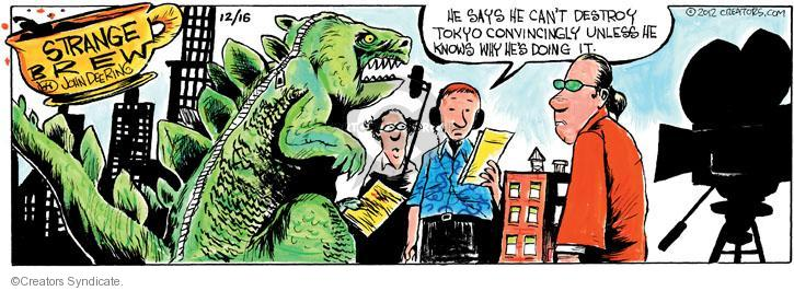 Comic Strip John Deering  Strange Brew 2012-12-16 science fiction movie