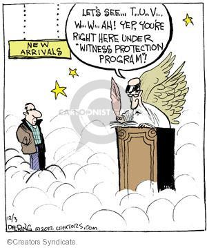 Comic Strip John Deering  Strange Brew 2012-12-03 heaven