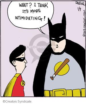 Comic Strip John Deering  Strange Brew 2013-01-09 Batman Robin