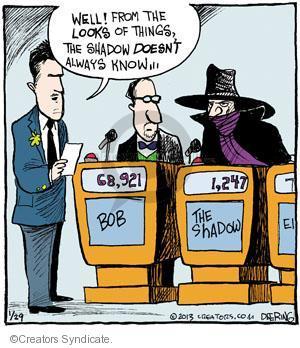 Cartoonist John Deering  Strange Brew 2013-01-29 television cartoon