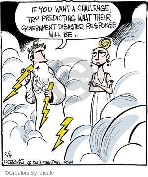 Comic Strip John Deering  Strange Brew 2013-02-05 heaven