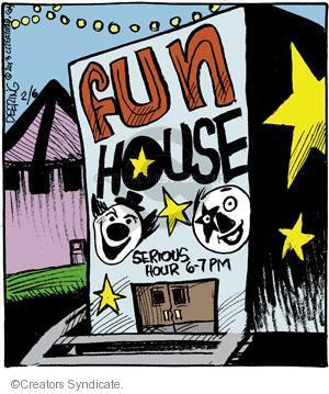 Comic Strip John Deering  Strange Brew 2013-02-06 happy