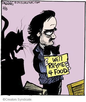 Cartoonist John Deering  Strange Brew 2013-02-08 rhyme