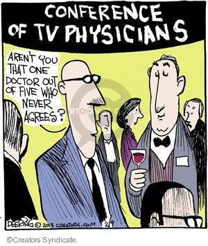 Cartoonist John Deering  Strange Brew 2013-02-09 television cartoon