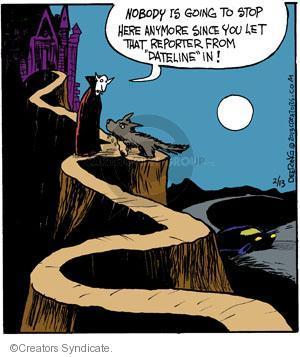 Cartoonist John Deering  Strange Brew 2013-02-13 television cartoon