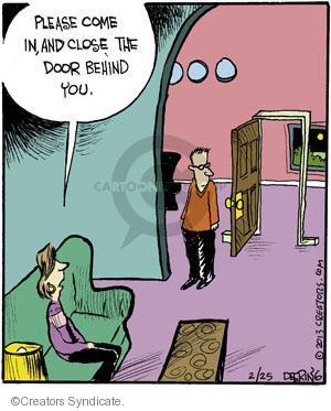Comic Strip John Deering  Strange Brew 2013-02-25 wall