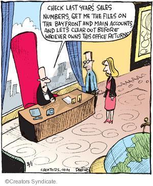 Comic Strip John Deering  Strange Brew 2013-03-01 fraud
