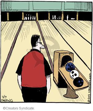 Comic Strip John Deering  Strange Brew 2013-03-07 between