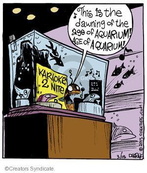 Comic Strip John Deering  Strange Brew 2013-03-15 musical