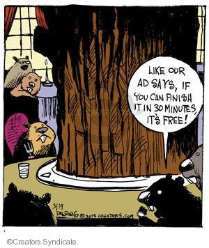 Comic Strip John Deering  Strange Brew 2013-03-19 thirty minutes
