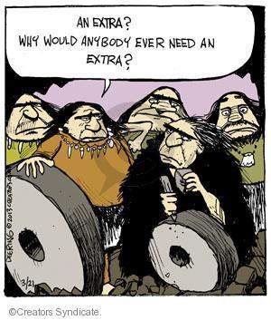 Comic Strip John Deering  Strange Brew 2013-03-21 inventor