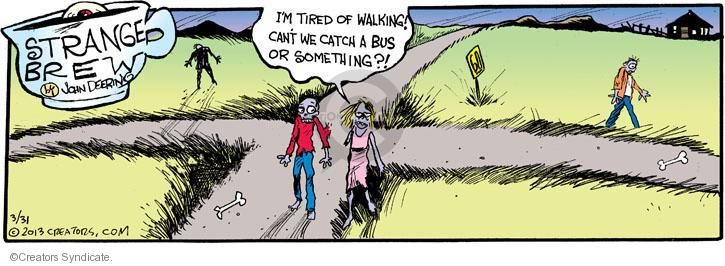 Comic Strip John Deering  Strange Brew 2013-03-31 catch