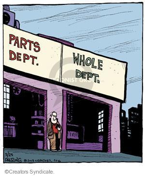 Comic Strip John Deering  Strange Brew 2013-03-25 garage