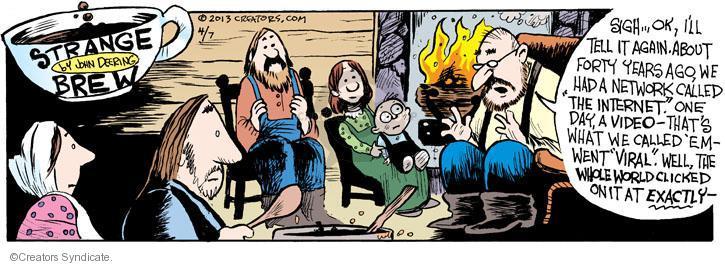 Comic Strip John Deering  Strange Brew 2013-04-07 forty