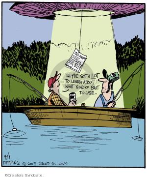 Cartoonist John Deering  Strange Brew 2013-04-01 tax