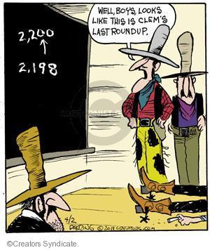 Comic Strip John Deering  Strange Brew 2013-04-02 math